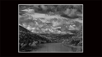 The Richard Philip Soltice Gallery - Columbia River and Fall Clouds